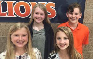 7th Grade Poem Contest Winners