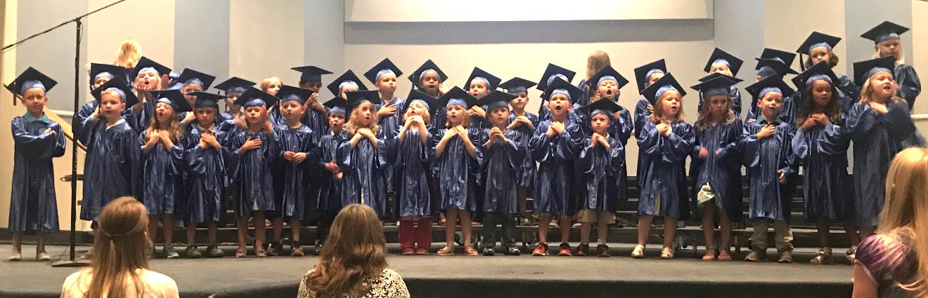 prek graduation legacy christian academy