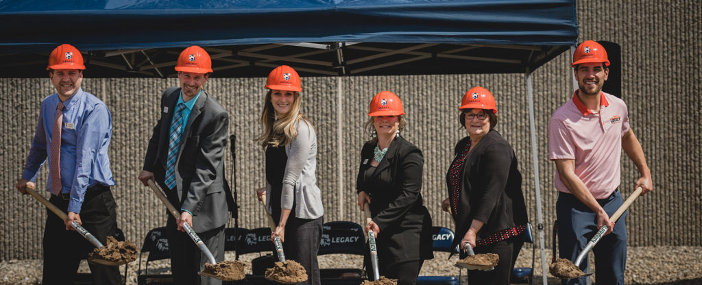 LCA Administrative Team - Ground breaking 2019