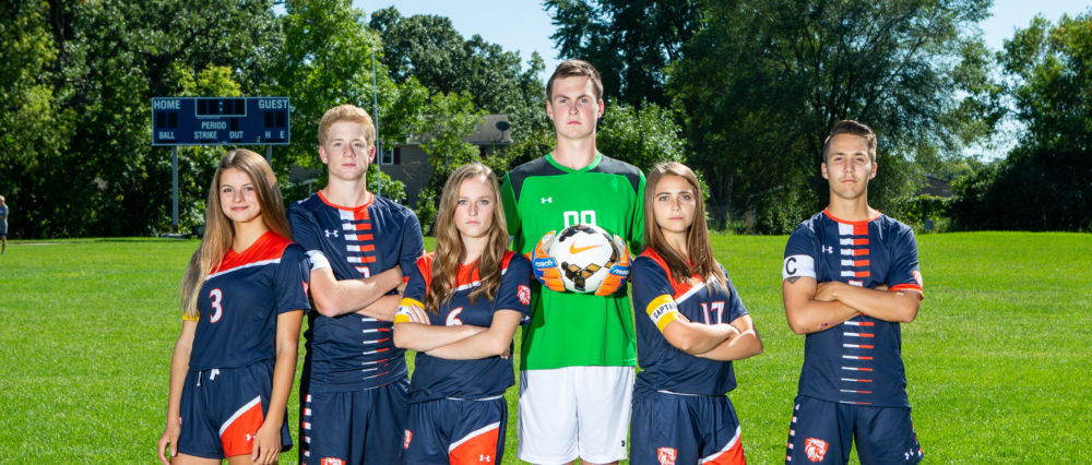 Fall 2019 Soccer Captains
