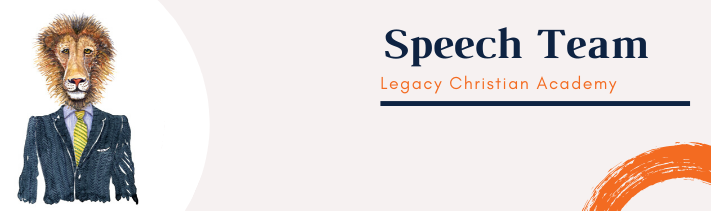 Speech Team Web Header