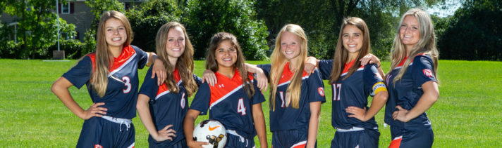 Girls Soccer Captains 2019