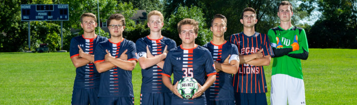 Boys Soccer Captains