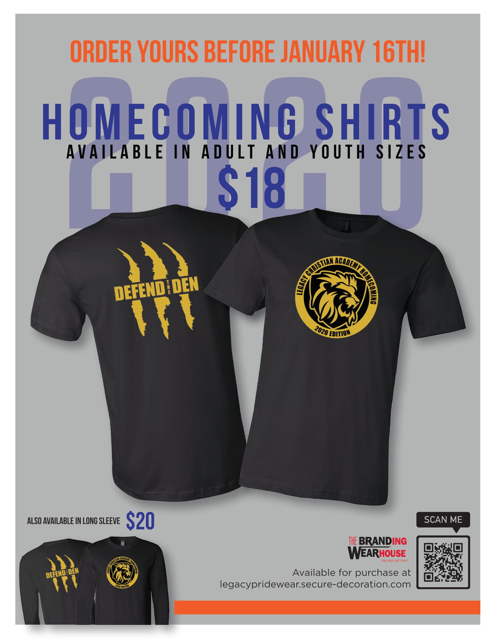Homecoming 2020 T-shirt
