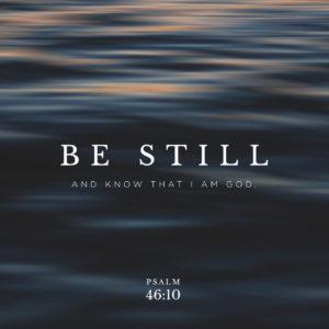 Psalm46:10