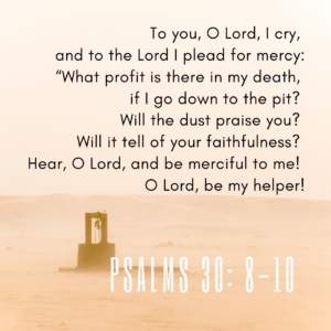 Psalms30:8-10 Image