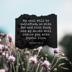 Psalm 63:5 verse image