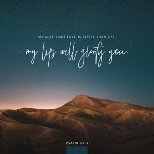 Psalms 63:3 Image